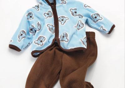 Cutie Pie boys fleece set