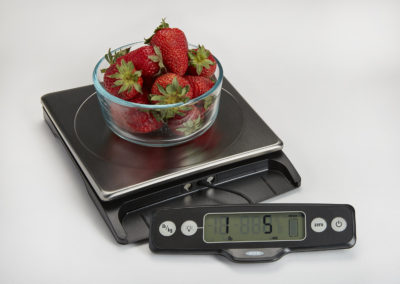 OXO Food Scale with pull-out display