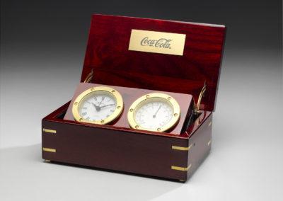 Coca-Cola Two Face Clock